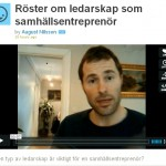 Videoklipp: Röster om ledarskap som samhällsentreprenör